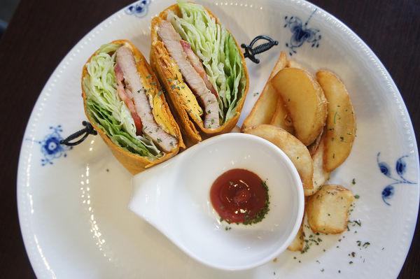 輕食午茶 三明治超讚@CAPE CAFE' NO3.開普3號店
