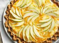 Pretty Pear Gingerbread Tart Recipe