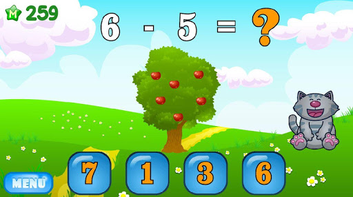 Mathematics and numerals: addition and subtraction 2.7 screenshots 3