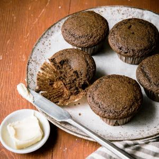 Buckwheat Gingerbread Muffins