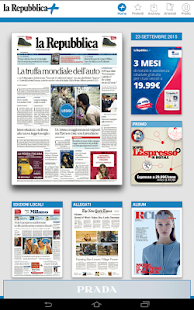 La Repubblica+- screenshot thumbnail