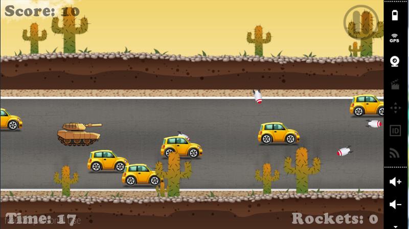 Скриншот Tank Death race