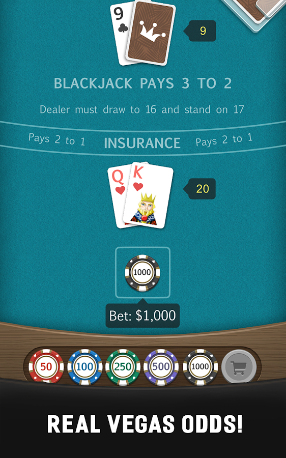 Royal Blackjack Casino: 21 Card Game- screenshot
