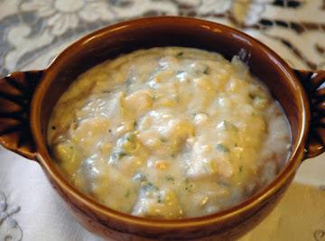 Texmex Chicken And Corn Chowder Recipe