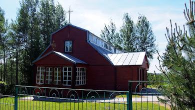 Photo: Juodupės Švč. Aušros Vartų Dievo Motinos bažnyčia