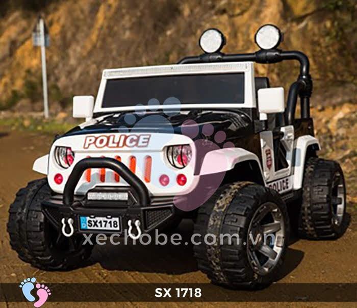 Xe ô tô điện trẻ em Jeep SX-1718 1