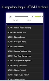 Kumpulan Lagu Hits NOAH - Mp3 - Android Apps on Google Play
