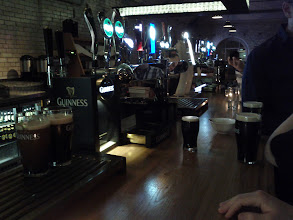 Photo: One of the bars in the Guinness Storehouse.