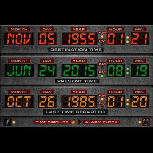 Time Machine Alarm Clock 工具 App LOGO-APP試玩