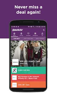 RetailMeNot Coupons, Discounts Screenshot 1