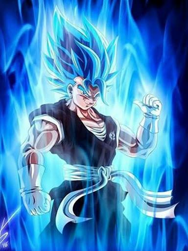 Goku Super Saiyan God Blue Wallpaper Screenshot 5