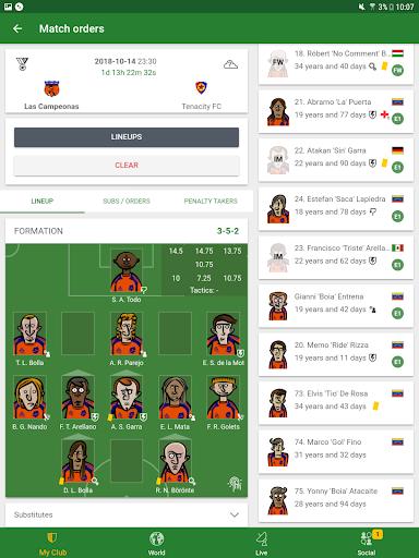 Hattrick Football Manager Game apktram screenshots 12