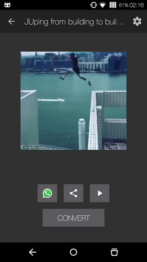 GIF to Video- screenshot