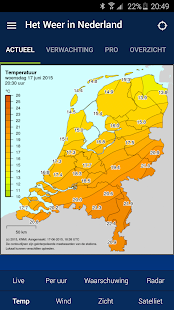 Het Weer in Nederland- screenshot thumbnail