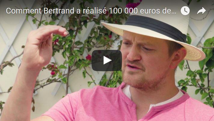 Comment Bertrand a réalisé 100 000 euros de ventes en un an avec son blog sur les langues
