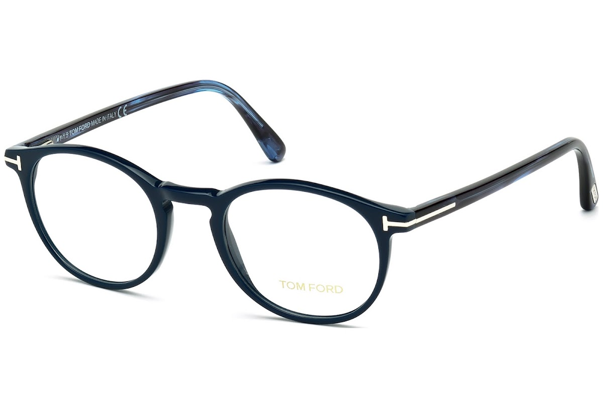 b3899b7674 Buy Tom Ford FT5294 C48 090 (shiny blue   ) Frames