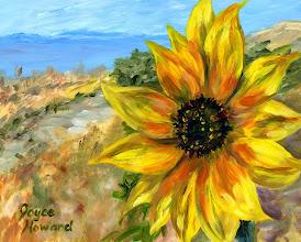 Photo: Sunflower at Great Salt Lake