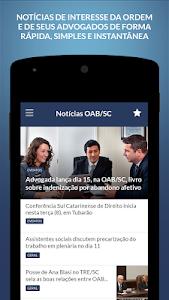 Notícias OAB/SC screenshot 0