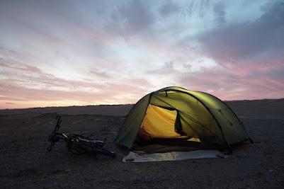 Zelten in der Wahiba
