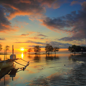 Perfect Morning in Marapokot by Marcell Boli - Landscapes Sunsets & Sunrises