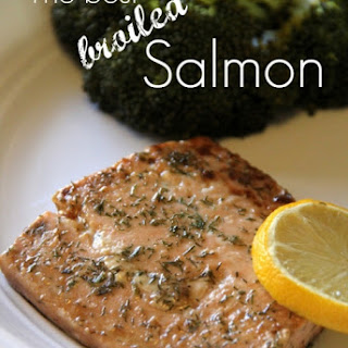 The best Broiled Salmon