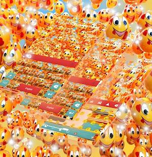 Emojis Photo Keyboard Témata - náhled