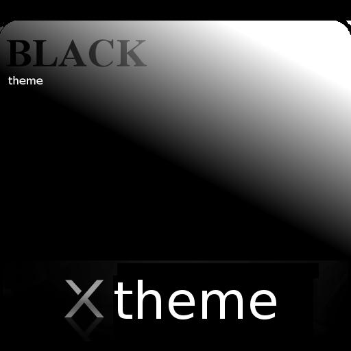 B/W theme for XPERIA
