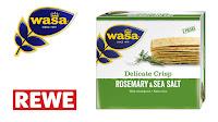 Angebot für Wasa Delicate Crisp Romarin & Meersalz im Supermarkt - Wasa