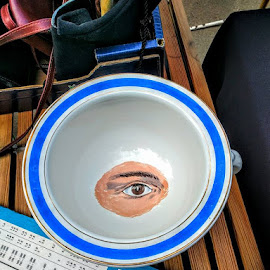 eye see what your up too! by Stephen Lang - Artistic Objects Antiques