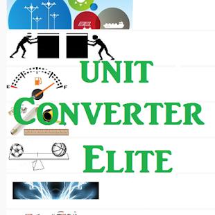 Unit Converter Elite - náhled