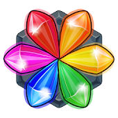 Gems & Magic adventure puzzle icon