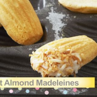 Coconut Almond Madeleines Recipe
