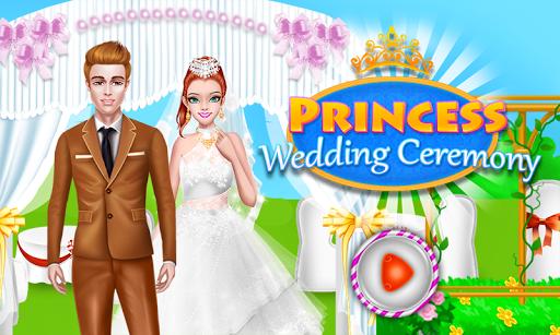 プリンセス儀式の結婚式のゲーム