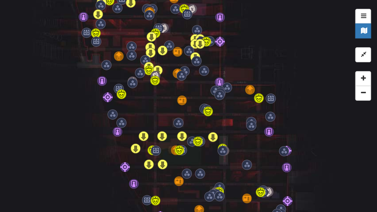 Map for The Division  Android Apps on Google Play