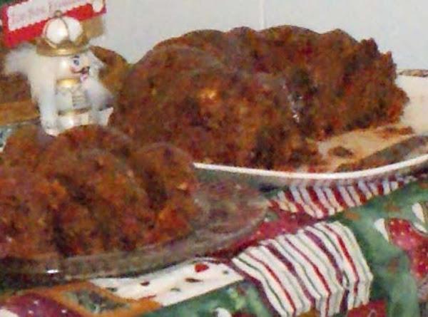 Unbaked Fruit Cake Recipe