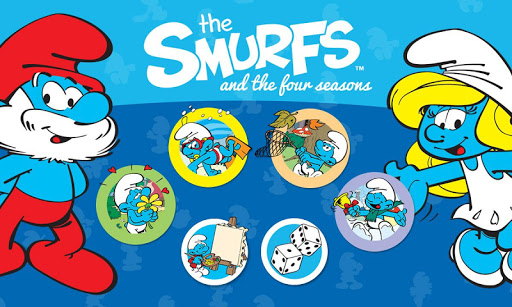 Smurfs and the four seasons apktram screenshots 9