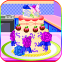 cooking games chocolate cake icon