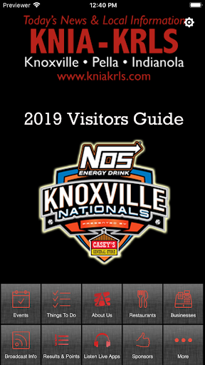 KNIA/KRLS Knx Nationals Guide 4.1.3 Screenshots 1