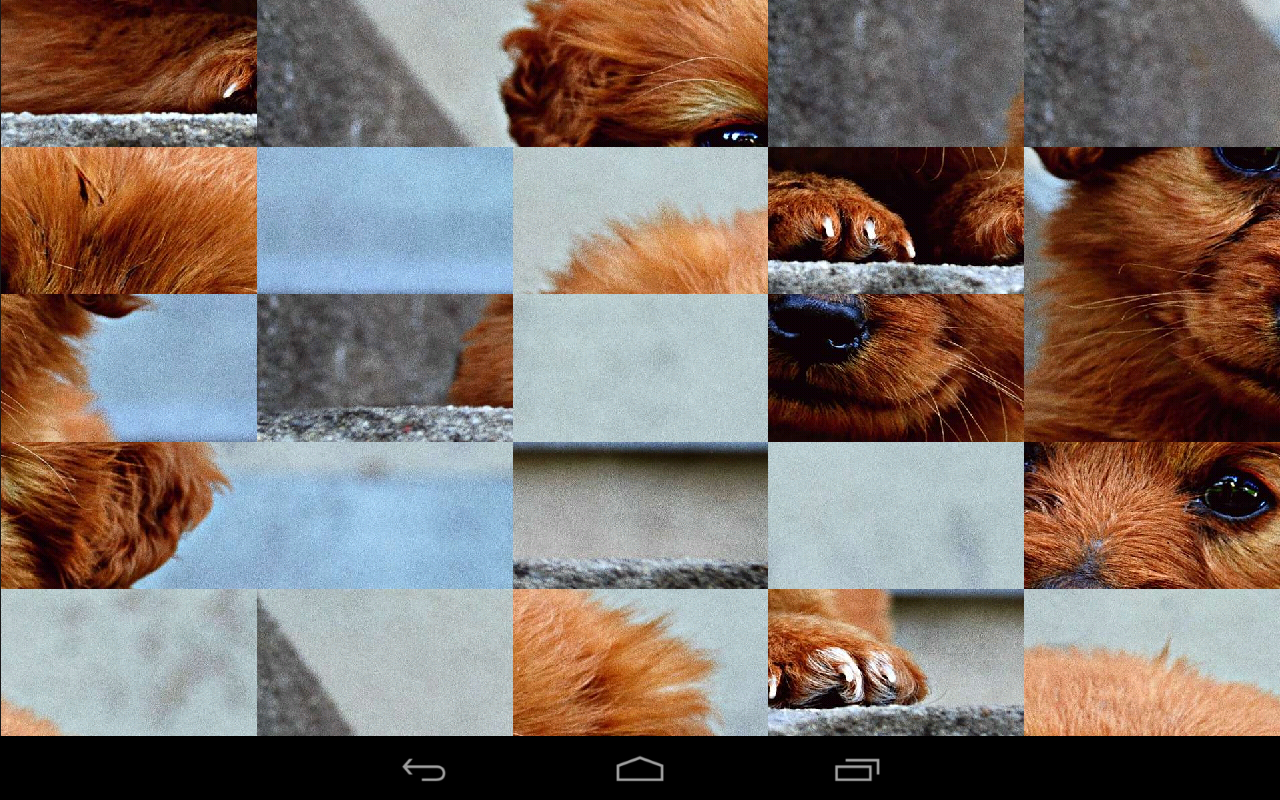 Tile Puzzles · Baby Animals- screenshot