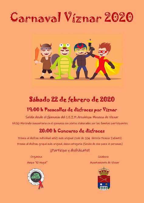 Carnavales en Viznar 2020