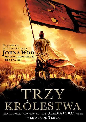 Polski plakat filmu 'Trzy Królestwa'