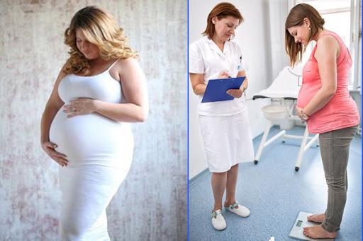 Những nguy cơ đối với phụ nữ béo phì trước và trong khi mang thai