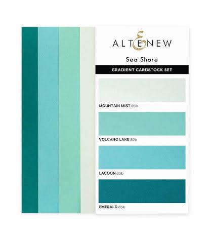 Altenew Gradient Cardstock Set - Sea Shore