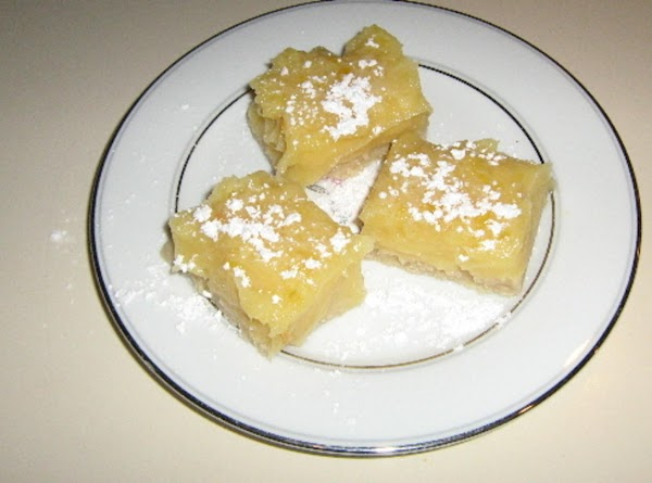 Lemon Bars By : Barefoot Contessa ( Ina Garten ) Recipe