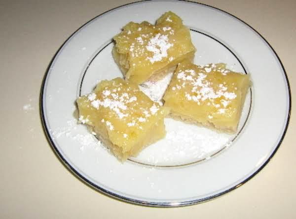 Lemon Bars!  So, So Yummy!