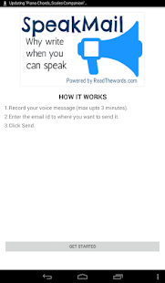 SpeakMail by ReadTheWords.com- screenshot thumbnail