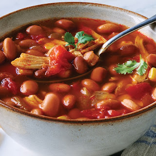 Bush's® Chicken Tortilla Soup.