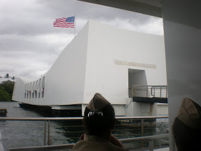 Photo: docked at the USS Arizona