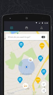 moovel - Transit, car2go, Taxi- screenshot thumbnail