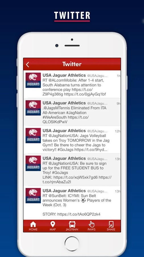 University of south alabama android apps on google play university of south alabama screenshot sciox Image collections